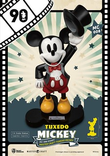 "Celebrating 90th Anniversary ""Tuxedo Mickey"" 1/4 Scale Figure by Beast Kingdom"