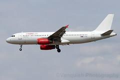 9H-AHR Air Malta A320 London Gatwick Airport