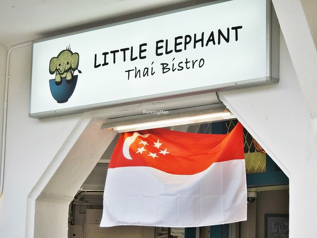 Little Elephant Thai Bistro Signage