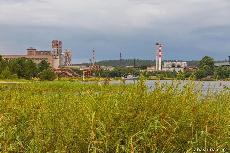 Завод ОАО «Лесплитинвест», Приозерск