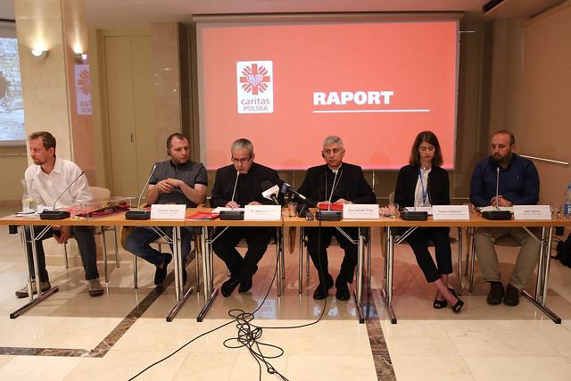 Prezentacja raportu Caritas Polska o pomocy w Syrii
