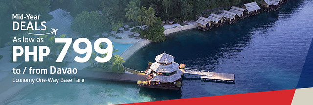 Philippine Airlines Mid-Year Deals from Davao