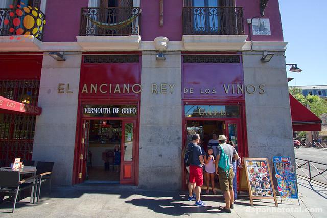melhores bares de Madri: El Anciano Rey de los Vinos