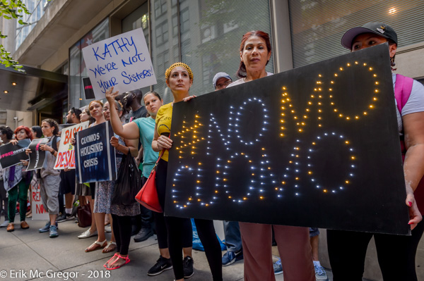 Climate Activists to Cuomo: Fight for People, Not Polluters