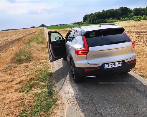 Essai Volvo XC40 D4 R design - Cévennes