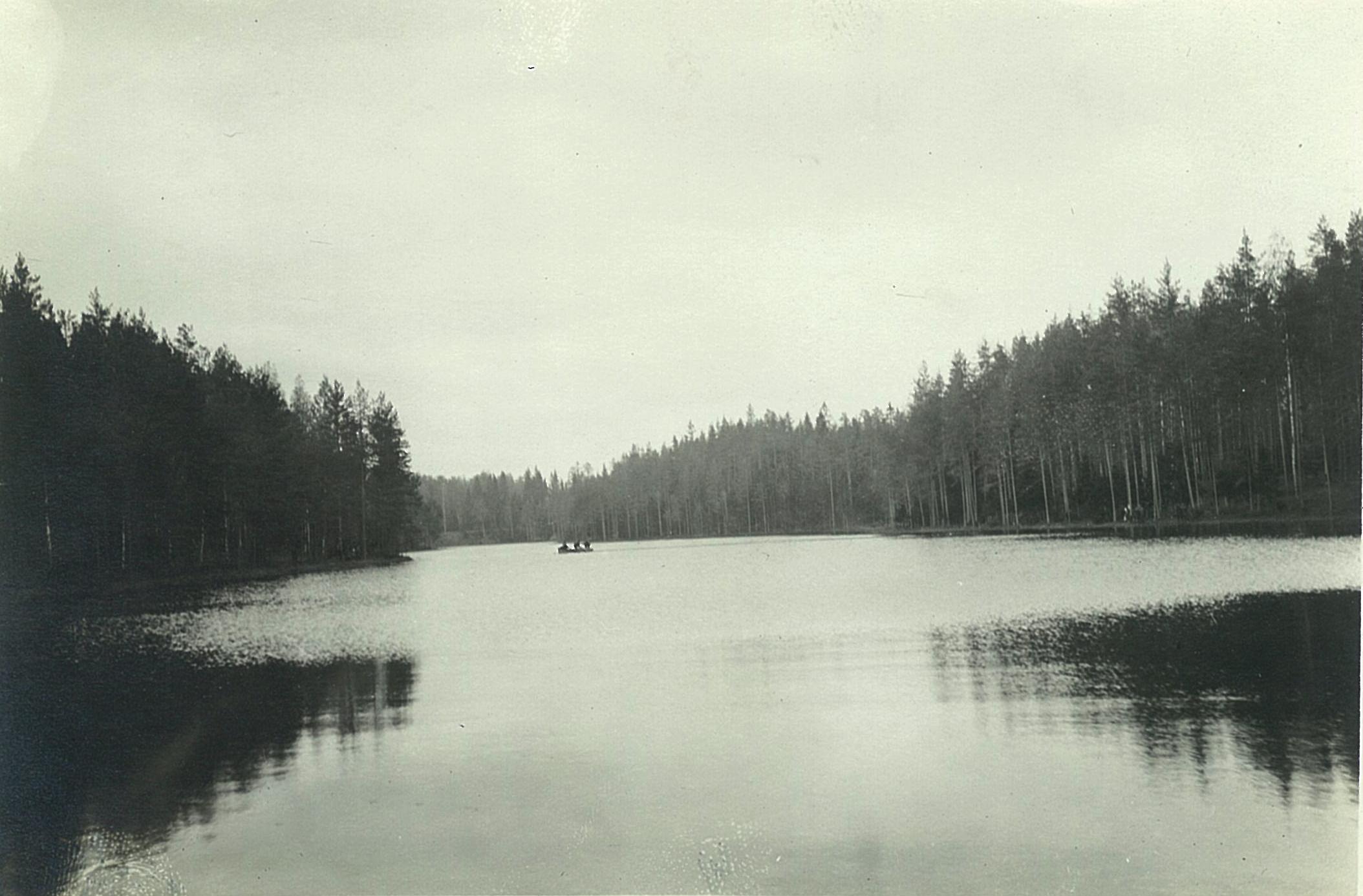 Панорама озера Длинное