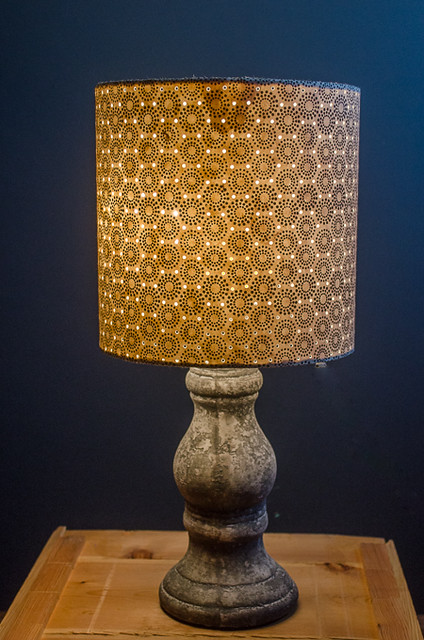Nepalese Paper Lampshade