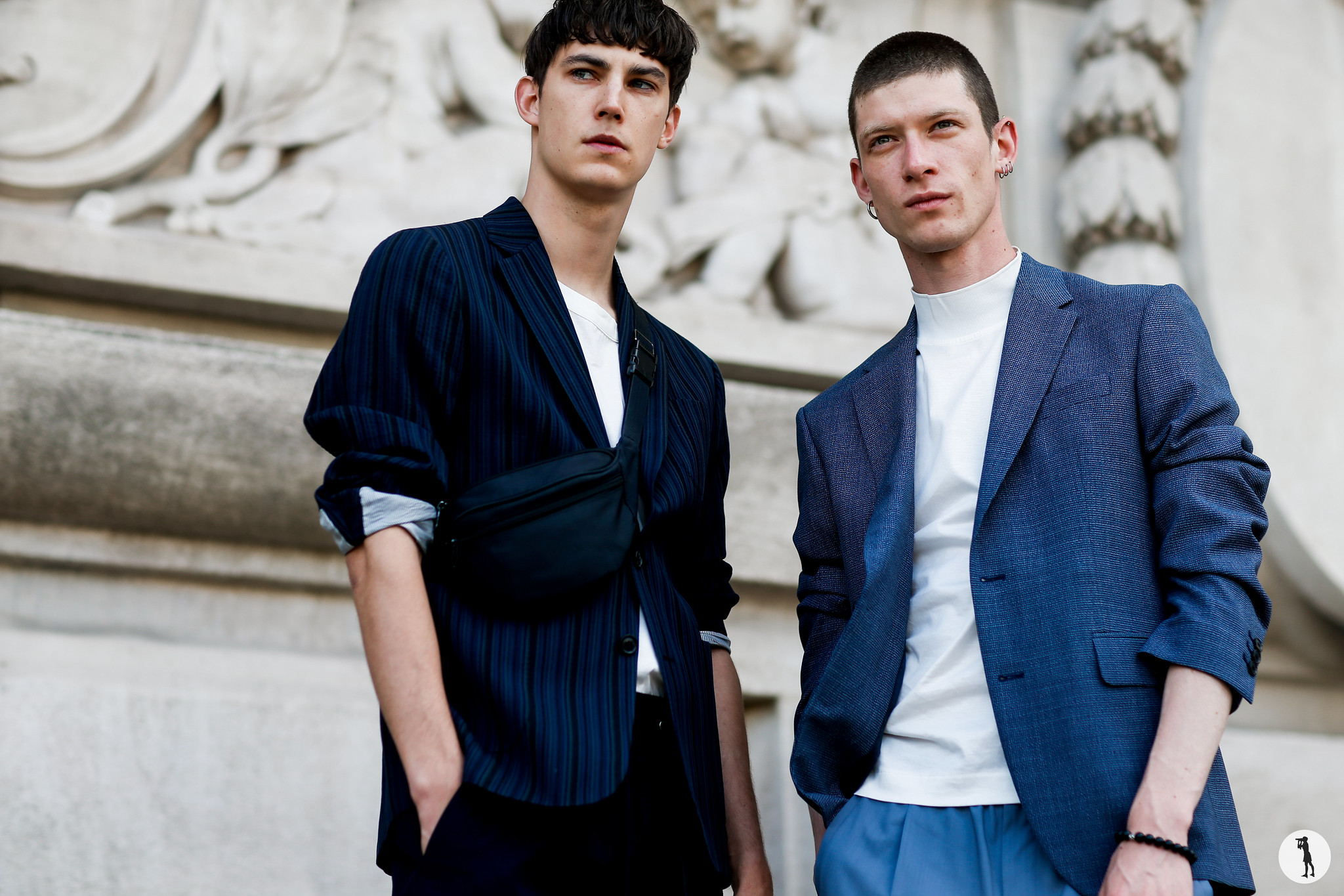 Julian Weigl and Gleb Gorodkov - Paris Fashion Week Menswear SS19 (2)