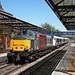 Melton station - 37611 & 345046 on 5Q58