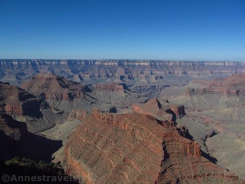 Views from Honan Point, North Rim Grand Canyon National Park, Arizona
