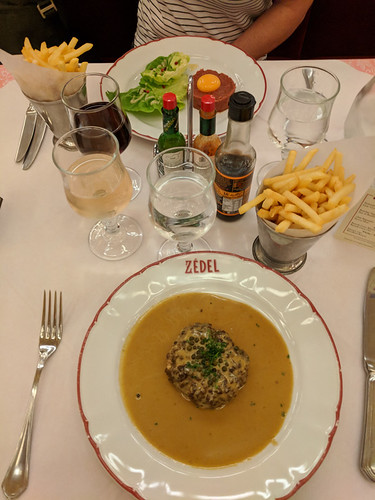 lunch @ Zedel Brasserie