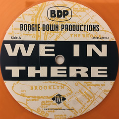 BOOGIE DOWN PRODUCTIONS:WE IN THERE(REMIX)(LABEL SIDE-A)