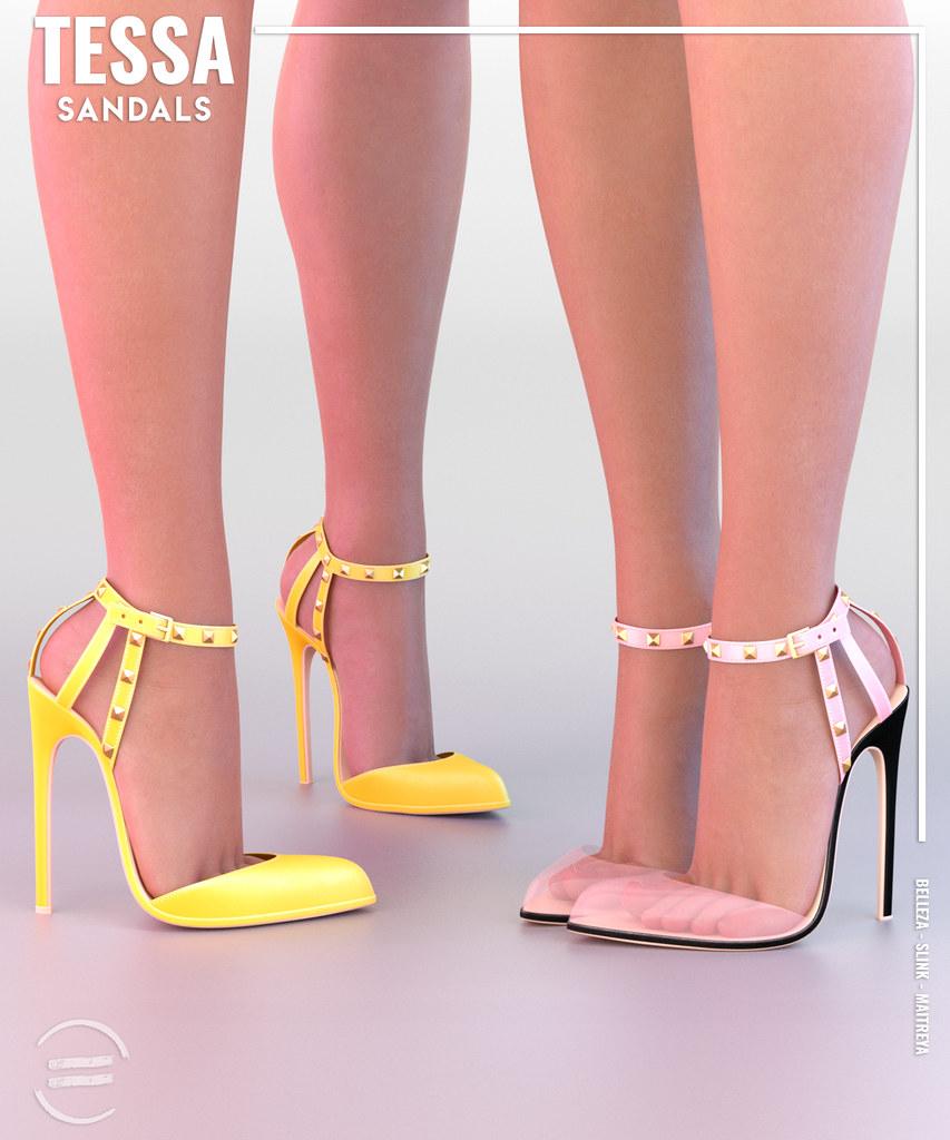 EQUAL - Tessa Sandals - TeleportHub.com Live!