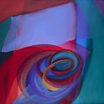 2011; Virginia Maitland; Spiral Arms; Acrylic on canvas; 54x60 - Virginia Maitland: 1965-Present at the Arvada Center
