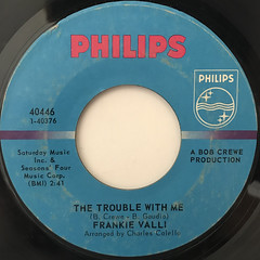 FRANKIE VALLI:CAN'T TAKE MY EYES OFF YOU(LABEL SIDE-B)