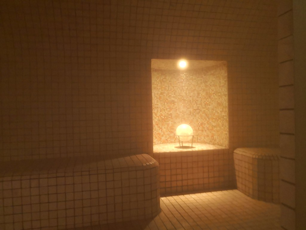 Aromatic steam room