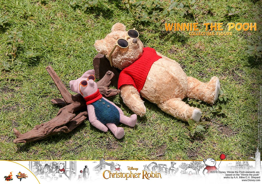 Christopher Robin - Winnie the Pooh and Piglet Collectible Set