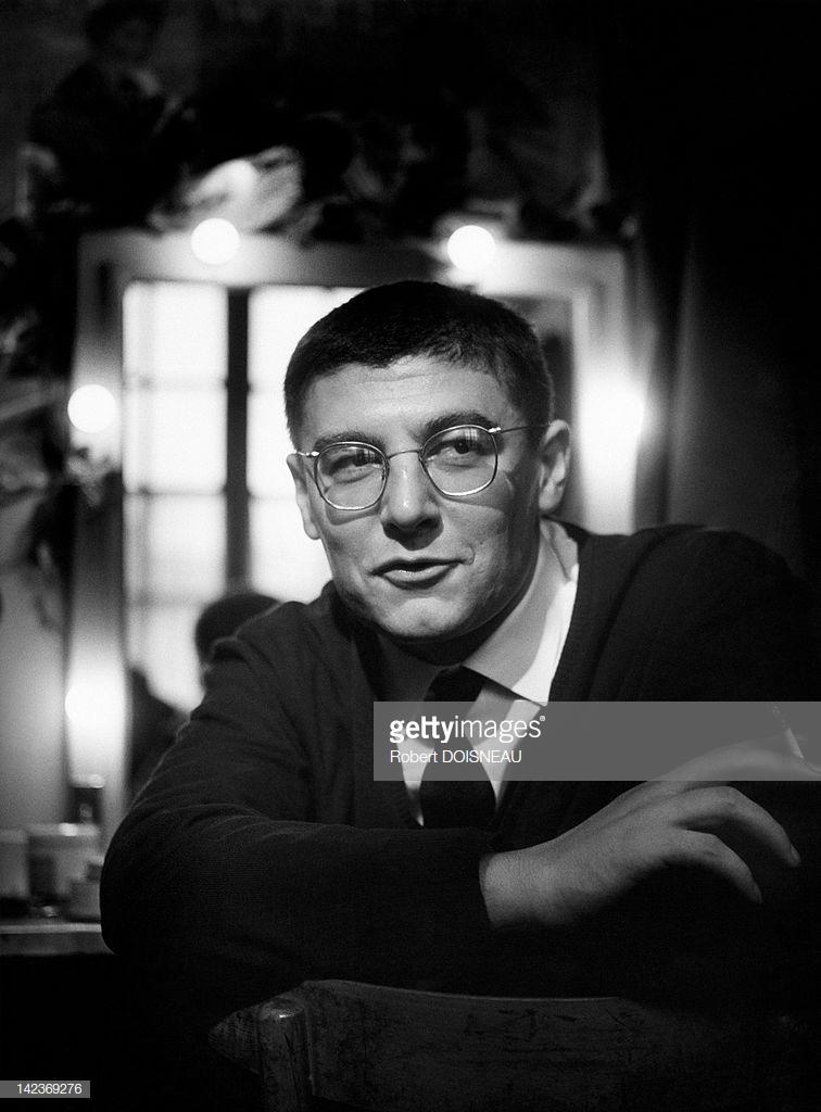 1960. Портрет французского драматурга и кинорежиссера Роже Планшона в то время, когда он ставил «Мертвые души» Гоголя в Театре Одеон в Париже
