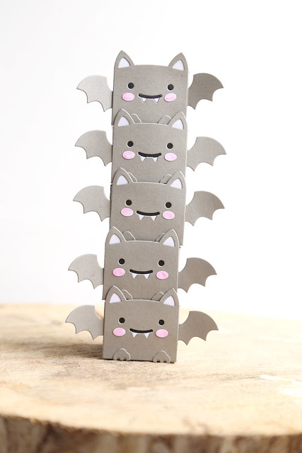 tiny bat boxes (Lawn Fawn inspiration week)
