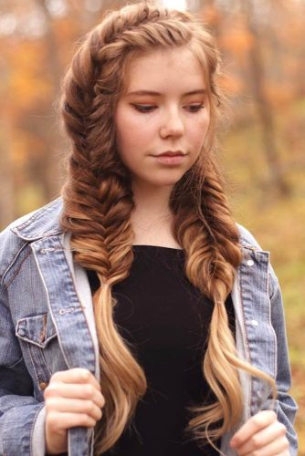 30+Most Stunning French Braid Hairstyles To Make You Amazed! 13