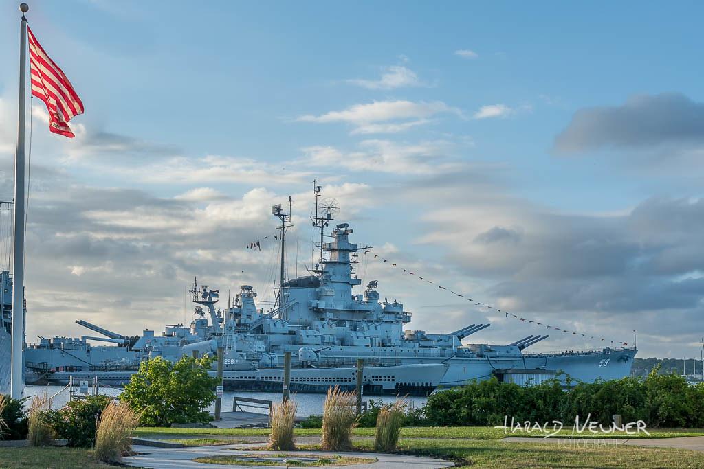 An Bord der USS Massachusetts