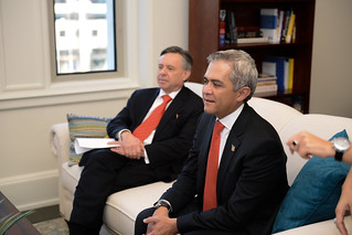 January 15,2015 MMB and Mexico City Mayor