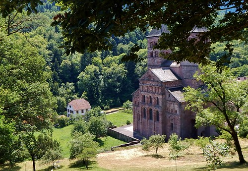 2018 1 juillet Murbach. Abbaye