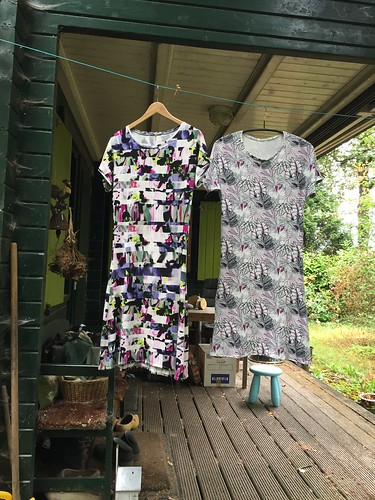 tricot sewing shirts viscose dress