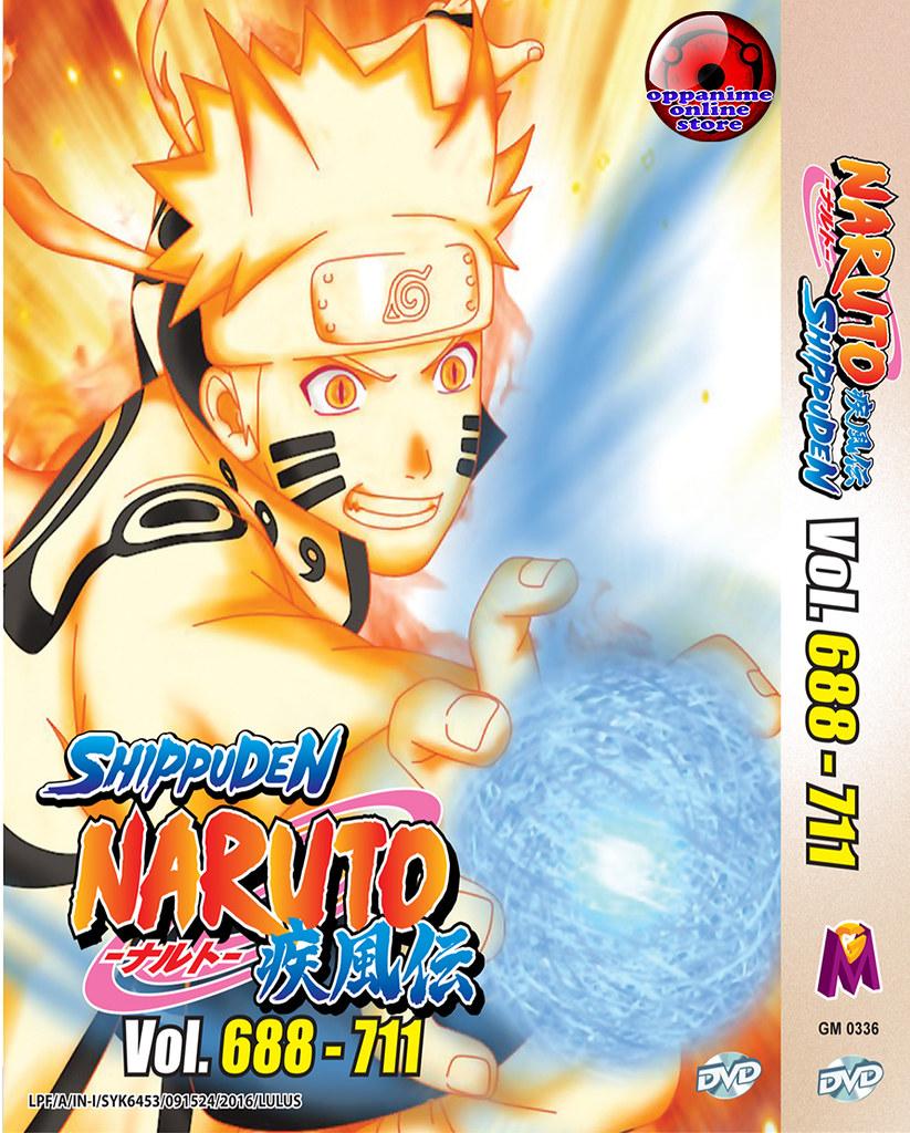 Naruto Anime Series Box 10(Episode 352 – 375) DVD Box Set 10