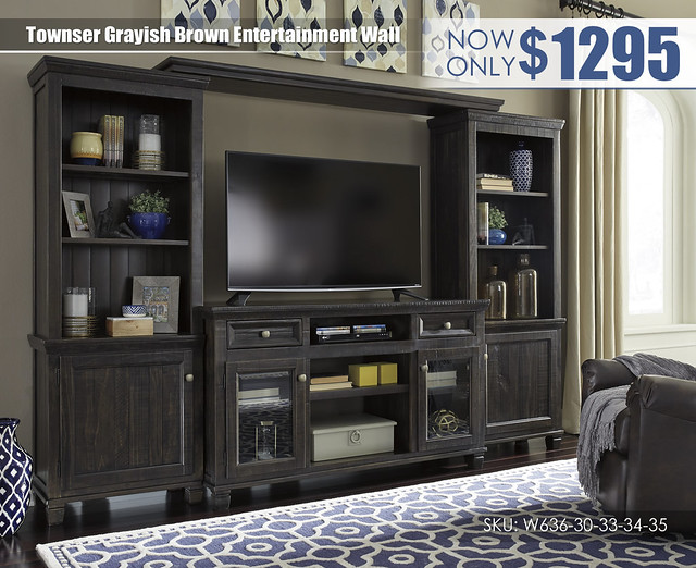 Townser Grayish Brown Entertainment Wall_W636-30-33-34-35