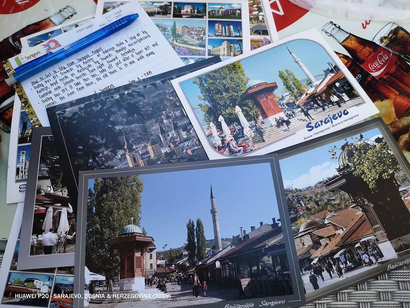 2018 Bosnia Sarajevo Postcard