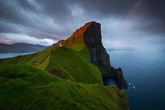 Sunrise at Kallur lighthouse