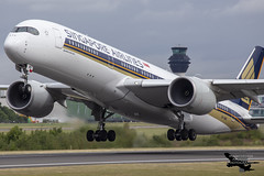 Singapore Airlines Airbus A350-941 9V-SMQ