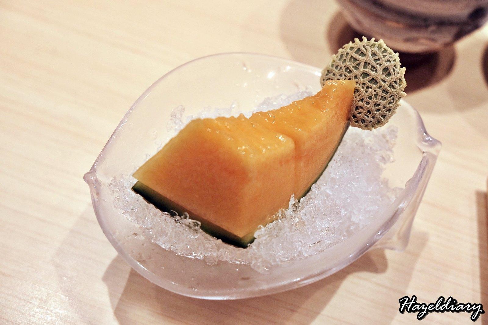 Sushi Chiharu by Tamaya Dining-Japanese Melon Dessert