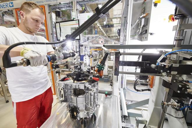 New era: Audi Hungaria starts  series production of electric motors