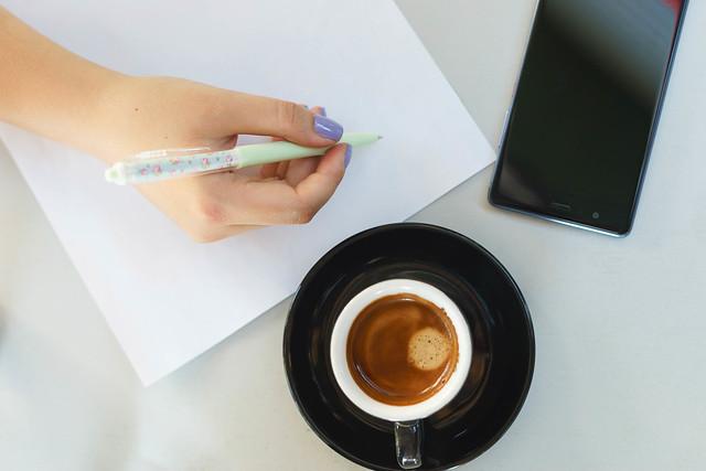 Coffee Break Flat Lay