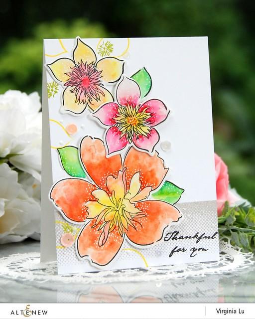 Altenew-FloralArt-Virginia#2