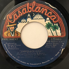 PARLIAMENT:CHOCOLATE CITY(LABEL SIDE-B)