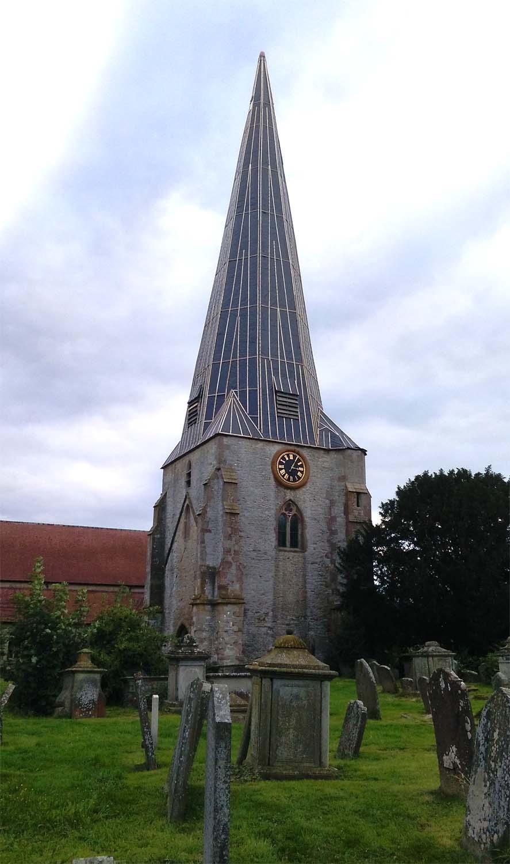 WESTBURY ON SEVERN, St Mary Exterior