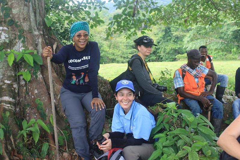 Taller ONU-REDD de periodistas latinoamericanos en Colombia.