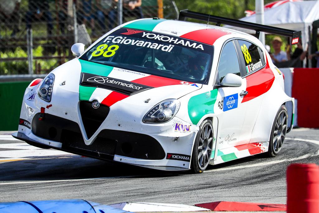 88 GIOVANARDI Fabrizio, (ita), Alfa Romeo Giulietta TCR team Mulsanne, action, during the 2018 FIA WTCR World Touring Car cup of Portugal, Vila Real from june 22 to 24 - Photo Paulo Maria / DPPI