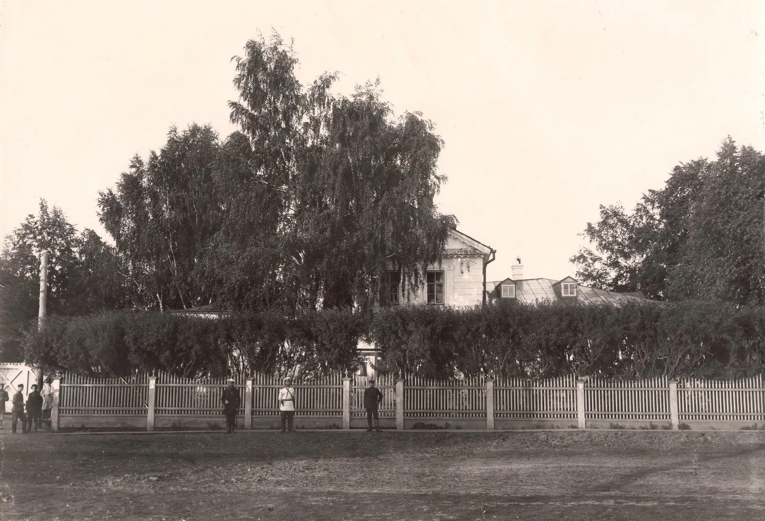 Вид на дом начальника Камско-Воткинского завода.