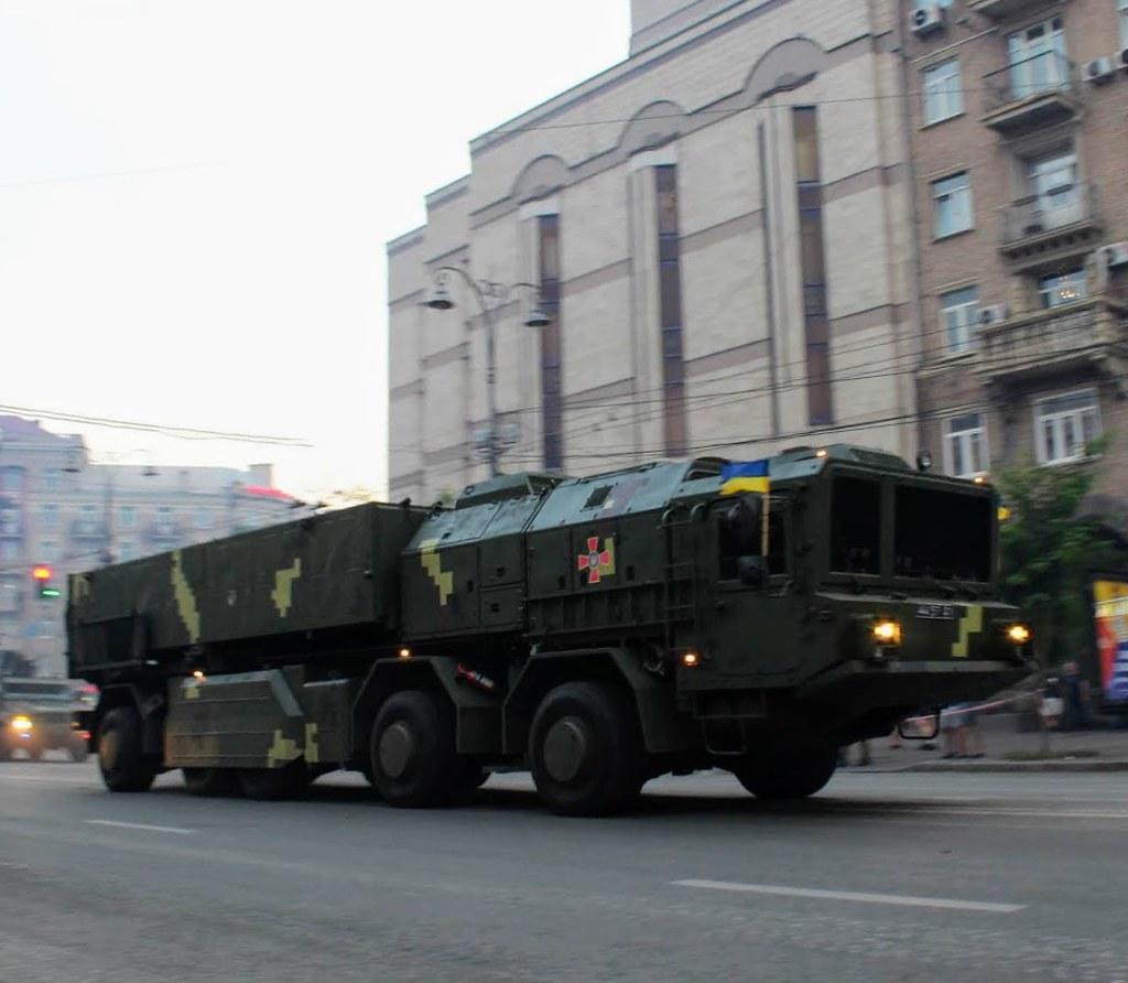 Тренировки перед парадом в Киеве