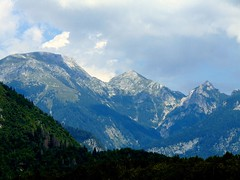 pe drumuri de munte/mountain roads