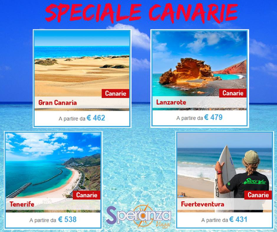 speciale canarie