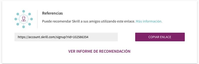 Programa de afiliados de Skrill