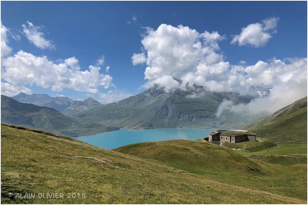 Lac du Mont-Cenis, Fort de Ronce et Lac Clair 30132771198_c4ef65beab_o