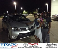 #HappyBirthday to Jasmine from Christopher Cosby at Hixson Toyota of Leesville!