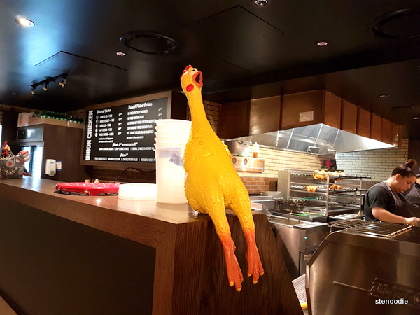 Union Chicken take-out counter