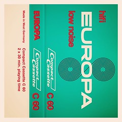 Cassettes: Europa Hifi Low Noise C60